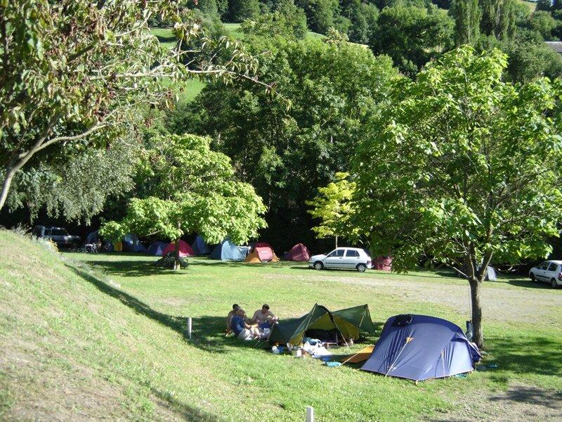 camping de Luz-St-Sauveur gr10