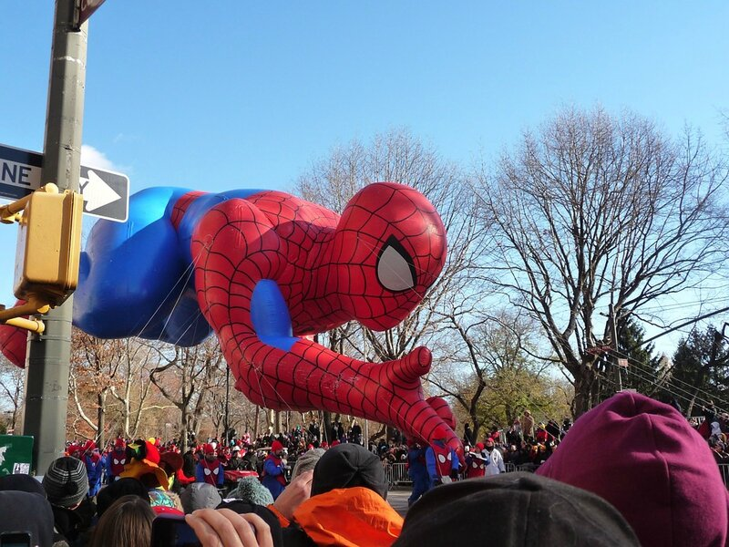 parade thanksgiving spiderman new york nyccrazygirl