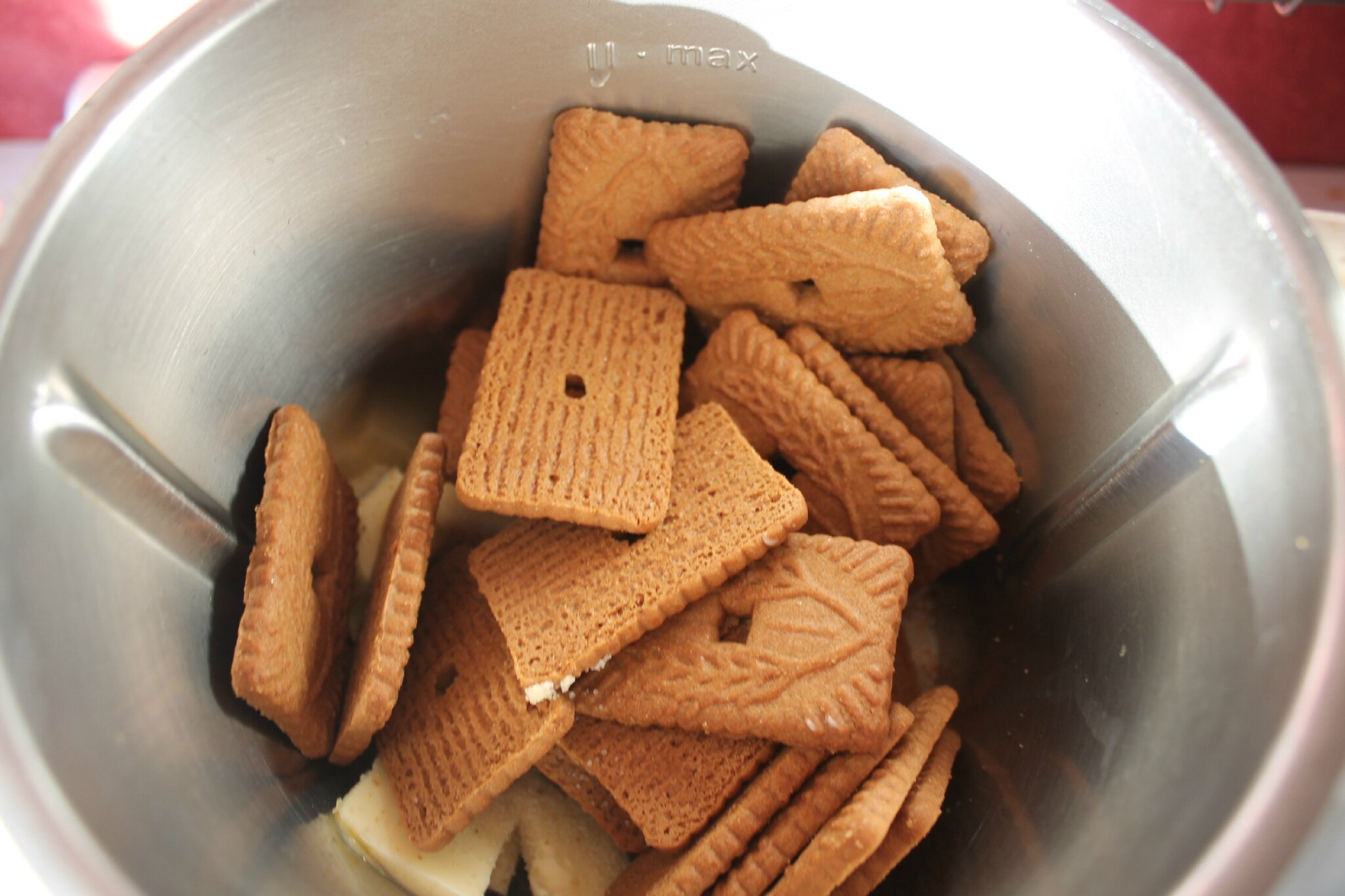 Gateau speculoos pomme thermomix