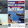 Toulon, voiles de légende