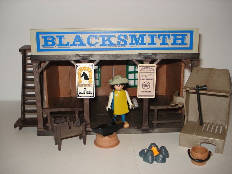 REF.3430 BLACKSMITH, LA HERRERIA (198) - PLAYMOBIL COLLECTION