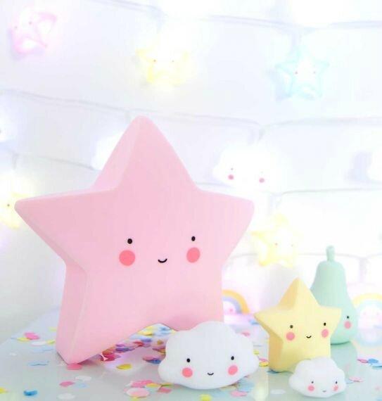 étoile rose 2