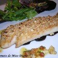Mahi-mahi en crote d'amandes