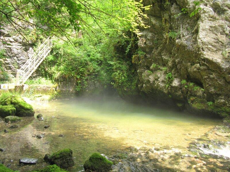Gorges de l'Abîme - Passage