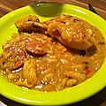 Cassoulet de poulet