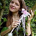 Bouquet baguette papillon coeur