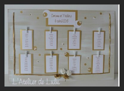 3 Plan De Table Page 6 L 39 Atelier De Lulu