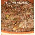 My ratatouille
