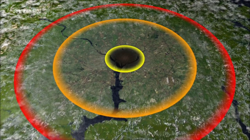 Tsar Bomba sur Washington