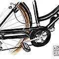 #34 - un vélo (détail)