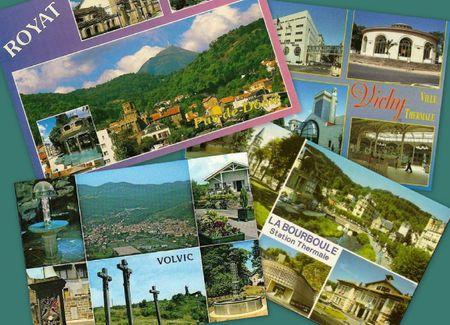Auvergne Villes themales