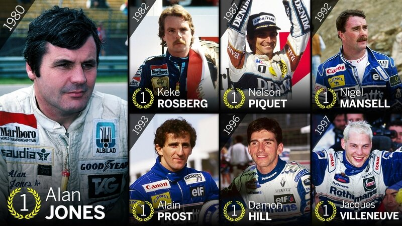 williams great 7 titres