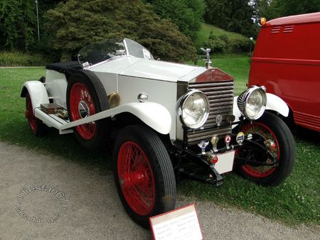 Rolls Royce 20 hp torpedo 1927 Internationales Oldtimer Meeting Baden Baden 2011 1