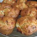 Muffins aux tomates cerise de france