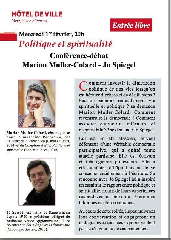 Politique et spiritualié