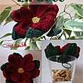 Poinsettia au crochet3