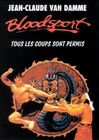 article - Bloodsport affiche