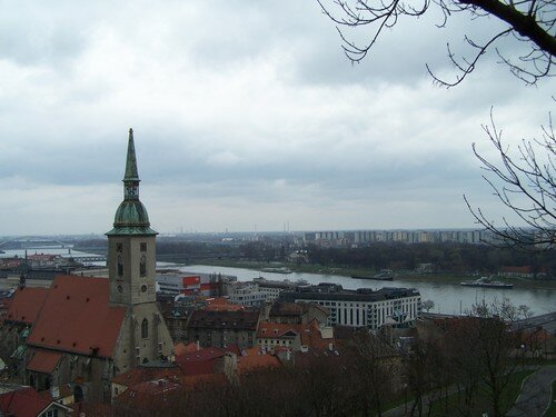 Bratislava, clocher cathédrale St Martin