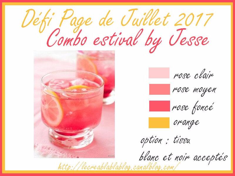 Défi Page de Juillet 2017