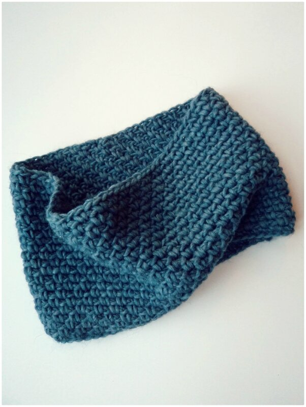 Snood au crochet Cam&Drey bricolent