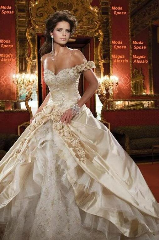 "DESTOCKAGE !!! Robe de mariée ""Champagne"" neuve Taille 38"