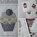 Ensemble de sets cupcakes 7