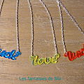 Love & Luck néon - 20 euros