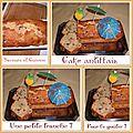 Cake antillais (banane/rhum/coco et raisins), que du bonheur !