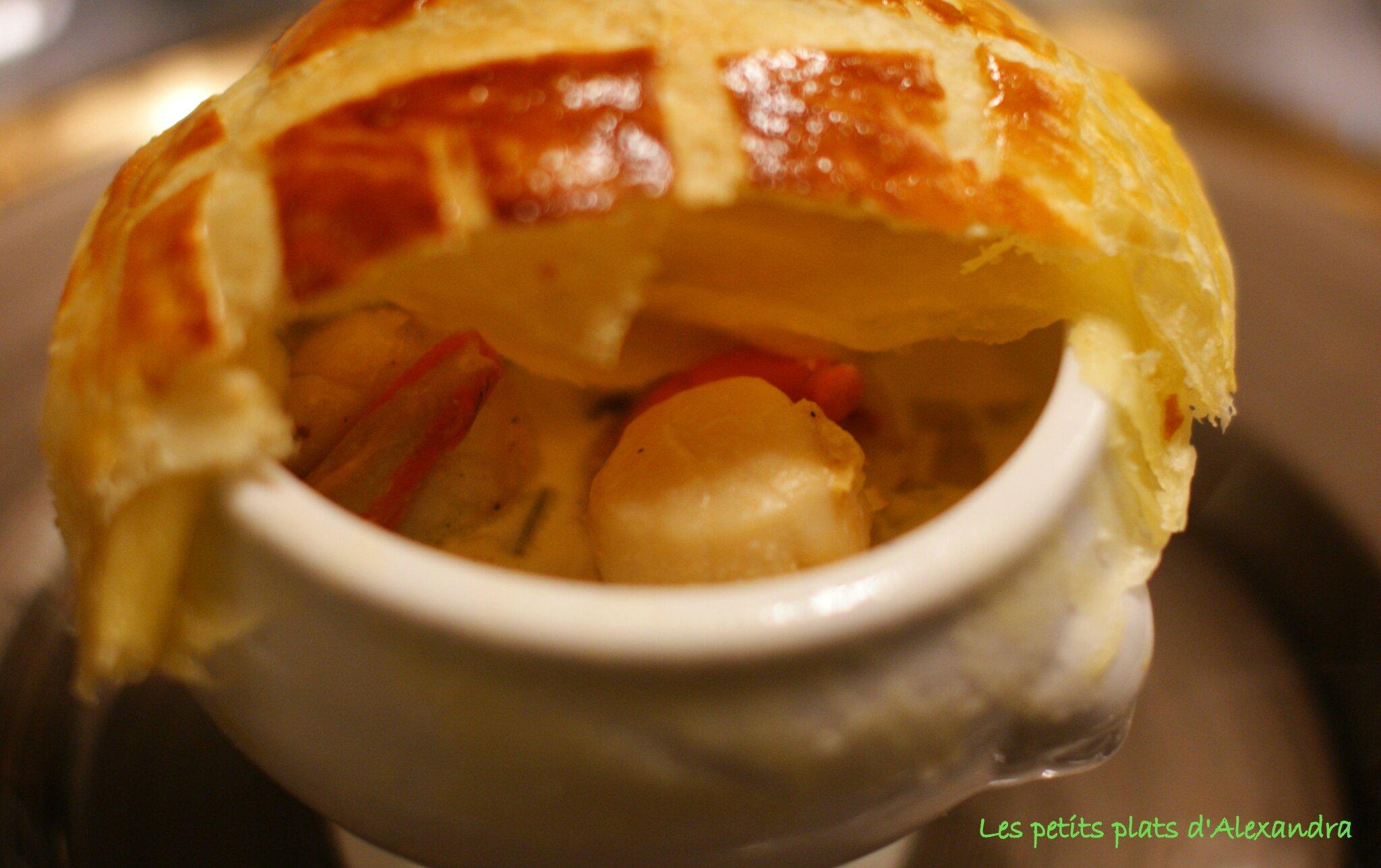 Table rabattable cuisine paris cassolette de st jacques - Cassolette de saint jacques sur lit de poireaux ...
