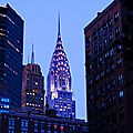 NEW-YORK 2014 CHRYSLER BUILDING LA NUIT