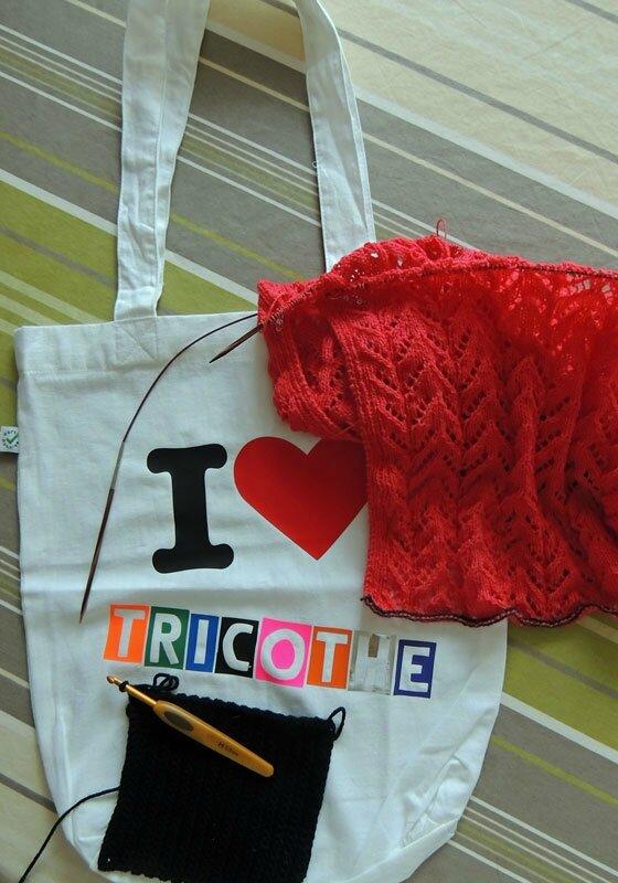 Mon sac pour tricothé