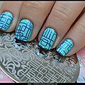 Circuit électronique sur mes ongles