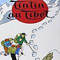 Tintin au tibet (hergé, 1959)