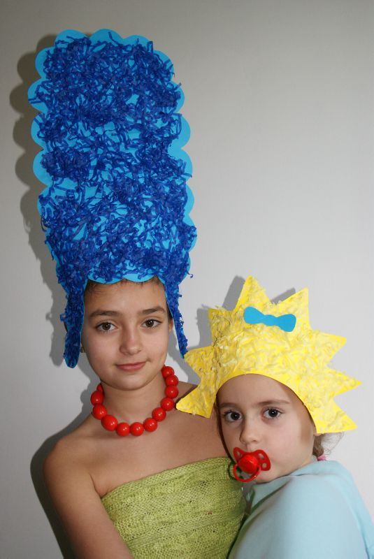 Couronne n°12 : Marge et Maggie Simpson