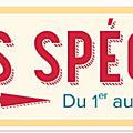 Offres speciales de la semaine