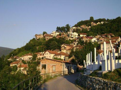 Bosnie, Sarajevo, en soiree