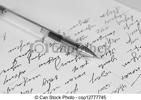 lettre can-stock-photo_csp12777745