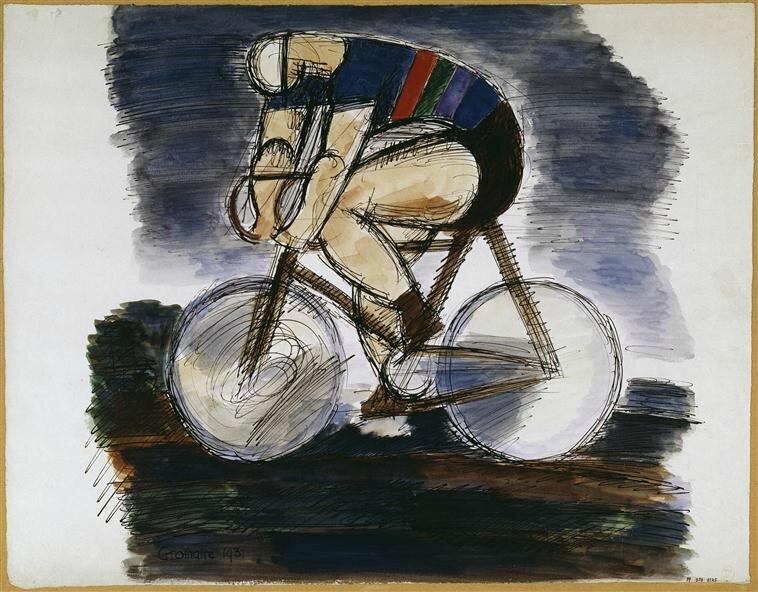 18 Gromaire cycliste