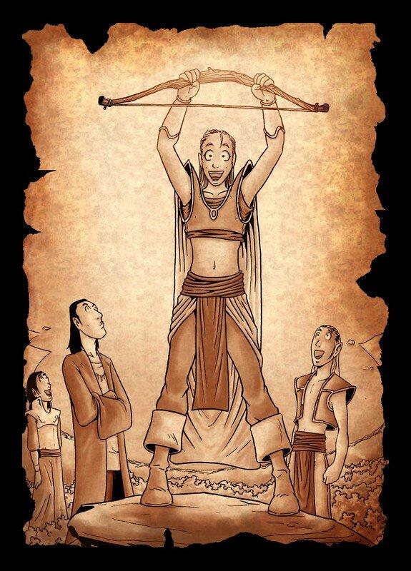 Naheulbeuk : Les Elfes découvrent l'arc en Terre de Fangh