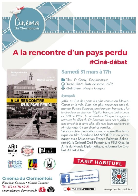 AlarencontrepaysperduCiné-debat mars5