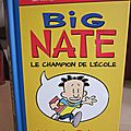 Big nate, le champion de l'école