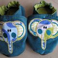 Eléphant bleu 24