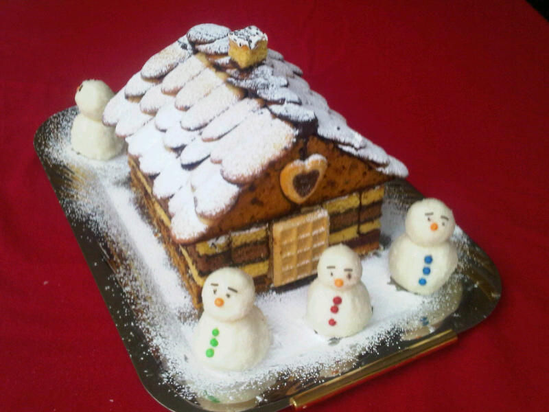 COTTAGE EN BISCUITS