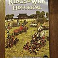 Kings of war historical, le livre de règles