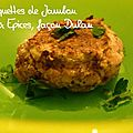 Croquettes de Jambon aux Epices, faon Dukan