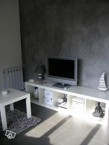 en gris et blanc pour une ambiance apaisante photo de. Black Bedroom Furniture Sets. Home Design Ideas