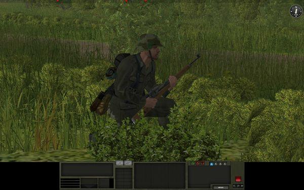 Ce sniper est à l'affut de cibles prioritaires