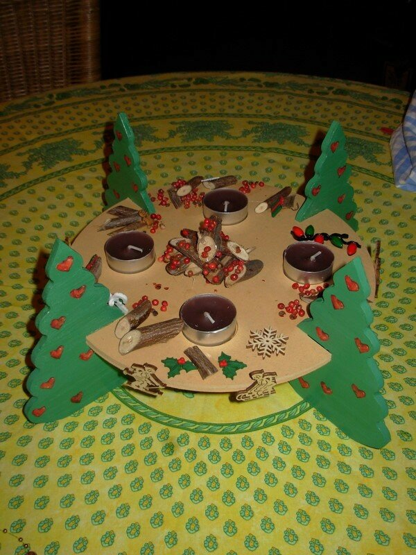 Decoration de noel a faire soi meme pour table - Decor de table pour noel a faire soi meme ...