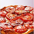 Tarte tatin  la tomate