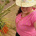 Défi #3 creative team motif personnel : le tissu ananas
